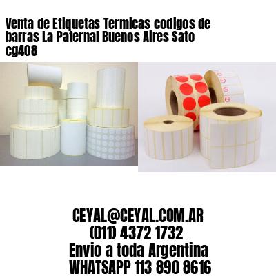Venta de Etiquetas Termicas codigos de barras La Paternal Buenos Aires Sato cg408