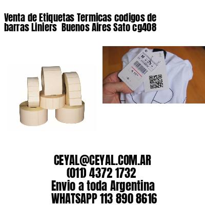 Venta de Etiquetas Termicas codigos de barras Liniers  Buenos Aires Sato cg408