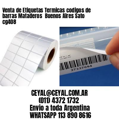 Venta de Etiquetas Termicas codigos de barras Mataderos  Buenos Aires Sato cg408