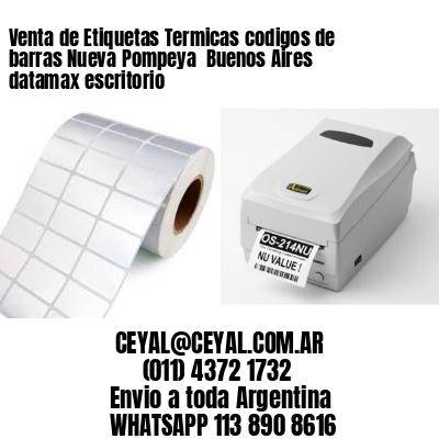 Venta de Etiquetas Termicas codigos de barras Nueva Pompeya  Buenos Aires datamax escritorio