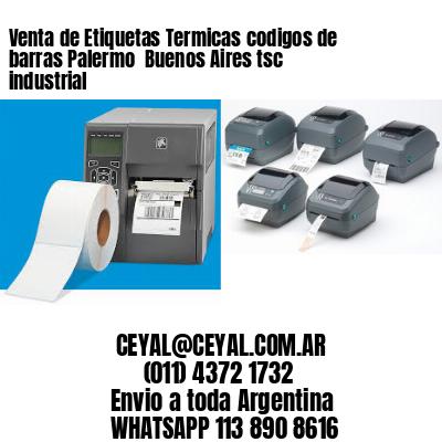 Venta de Etiquetas Termicas codigos de barras Palermo  Buenos Aires tsc industrial