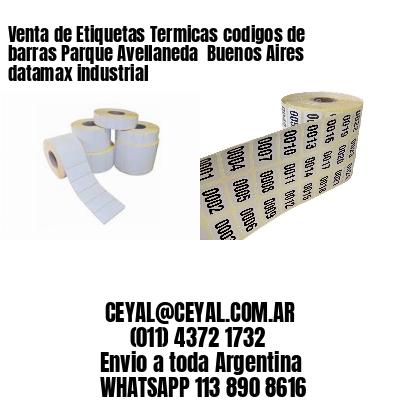 Venta de Etiquetas Termicas codigos de barras Parque Avellaneda  Buenos Aires datamax industrial
