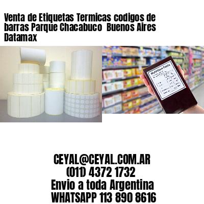Venta de Etiquetas Termicas codigos de barras Parque Chacabuco  Buenos Aires Datamax