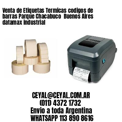Venta de Etiquetas Termicas codigos de barras Parque Chacabuco  Buenos Aires datamax industrial