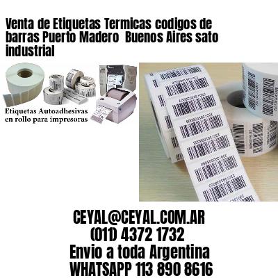 Venta de Etiquetas Termicas codigos de barras Puerto Madero  Buenos Aires sato industrial