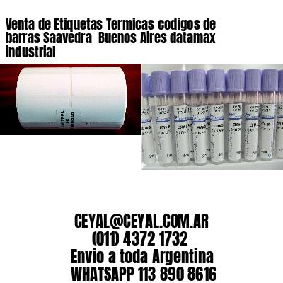 Venta de Etiquetas Termicas codigos de barras Saavedra  Buenos Aires datamax industrial