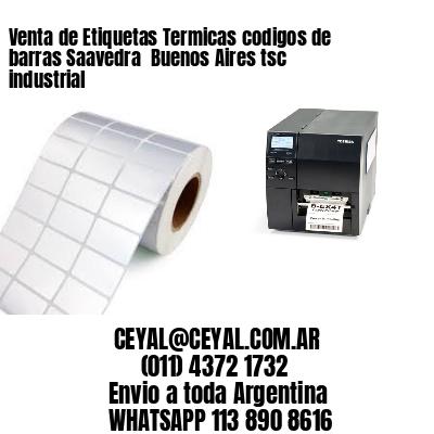 Venta de Etiquetas Termicas codigos de barras Saavedra  Buenos Aires tsc industrial