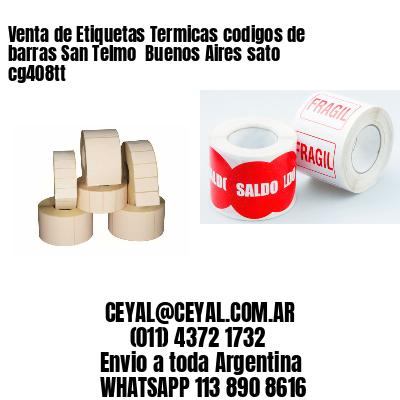 Venta de Etiquetas Termicas codigos de barras San Telmo  Buenos Aires sato cg408tt