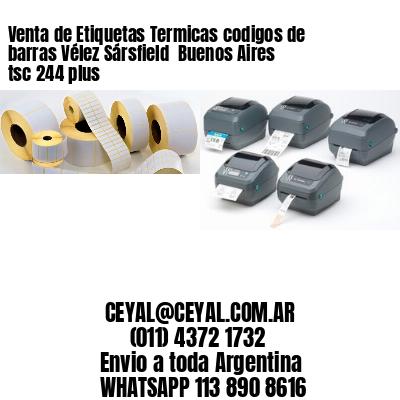 Venta de Etiquetas Termicas codigos de barras Vélez Sársfield  Buenos Aires tsc 244 plus