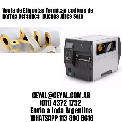 Venta de Etiquetas Termicas codigos de barras Versalles  Buenos Aires Sato