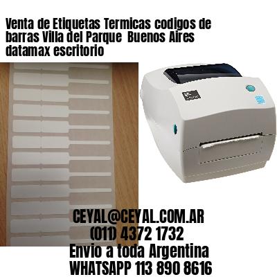 Venta de Etiquetas Termicas codigos de barras Villa del Parque  Buenos Aires datamax escritorio