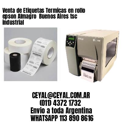 Venta de Etiquetas Termicas en rollo epson Almagro  Buenos Aires tsc industrial