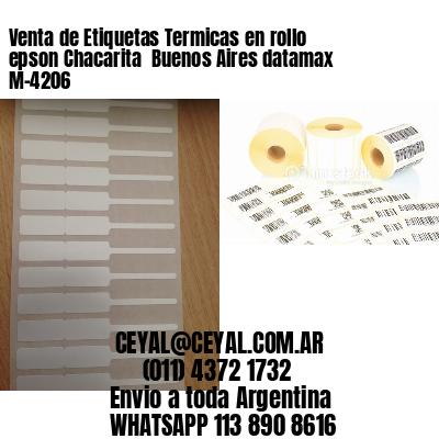 Venta de Etiquetas Termicas en rollo epson Chacarita  Buenos Aires datamax  M-4206