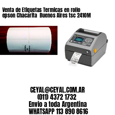 Venta de Etiquetas Termicas en rollo epson Chacarita  Buenos Aires tsc 2410M