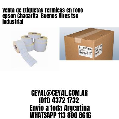 Venta de Etiquetas Termicas en rollo epson Chacarita  Buenos Aires tsc industrial