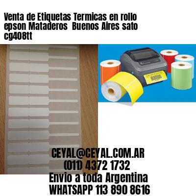 Venta de Etiquetas Termicas en rollo epson Mataderos  Buenos Aires sato cg408tt