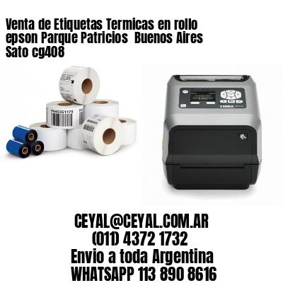 Venta de Etiquetas Termicas en rollo epson Parque Patricios  Buenos Aires Sato cg408