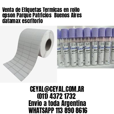Venta de Etiquetas Termicas en rollo epson Parque Patricios  Buenos Aires datamax escritorio