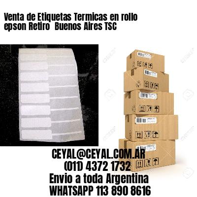 Venta de Etiquetas Termicas en rollo epson Retiro  Buenos Aires TSC