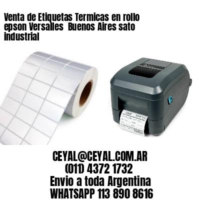 Venta de Etiquetas Termicas en rollo epson Versalles  Buenos Aires sato industrial