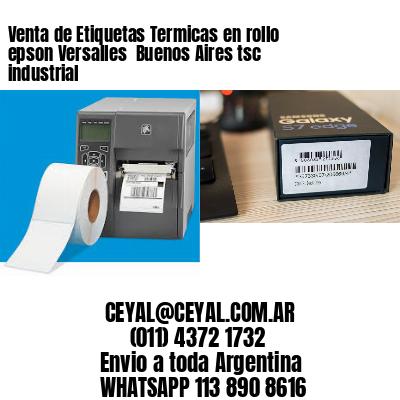 Venta de Etiquetas Termicas en rollo epson Versalles  Buenos Aires tsc industrial