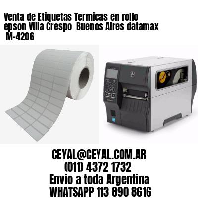 Venta de Etiquetas Termicas en rollo epson Villa Crespo  Buenos Aires datamax  M-4206