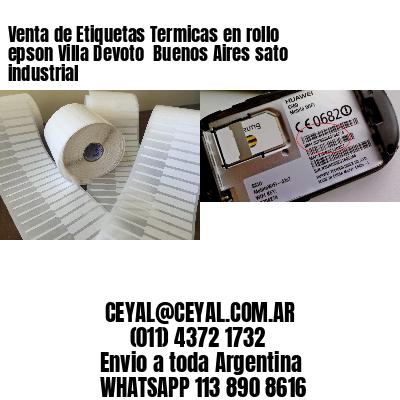 Venta de Etiquetas Termicas en rollo epson Villa Devoto  Buenos Aires sato industrial