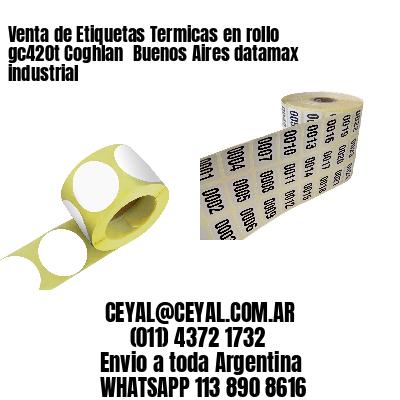 Venta de Etiquetas Termicas en rollo gc420t Coghlan  Buenos Aires datamax industrial