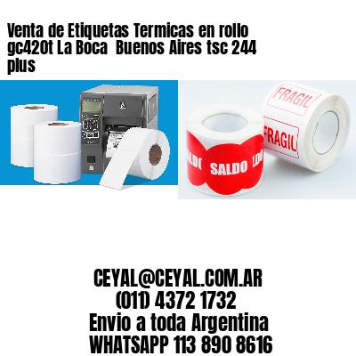 Venta de Etiquetas Termicas en rollo gc420t La Boca  Buenos Aires tsc 244 plus