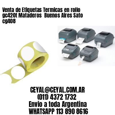 Venta de Etiquetas Termicas en rollo gc420t Mataderos  Buenos Aires Sato cg408
