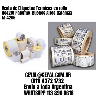 Venta de Etiquetas Termicas en rollo gc420t Palermo  Buenos Aires datamax  M-4206