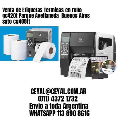Venta de Etiquetas Termicas en rollo gc420t Parque Avellaneda  Buenos Aires sato cg408tt