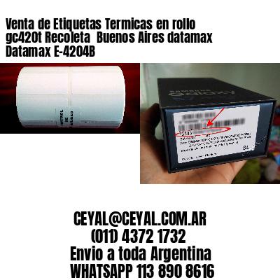 Venta de Etiquetas Termicas en rollo gc420t Recoleta  Buenos Aires datamax Datamax E-4204B