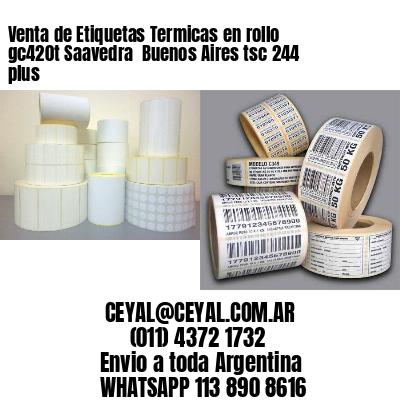 Venta de Etiquetas Termicas en rollo gc420t Saavedra  Buenos Aires tsc 244 plus