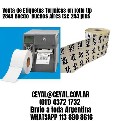 Venta de Etiquetas Termicas en rollo tlp 2844 Boedo  Buenos Aires tsc 244 plus