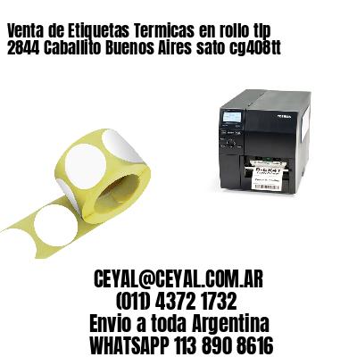 Venta de Etiquetas Termicas en rollo tlp 2844 Caballito Buenos Aires sato cg408tt