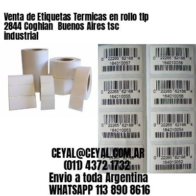 Venta de Etiquetas Termicas en rollo tlp 2844 Coghlan  Buenos Aires tsc industrial