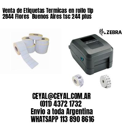 Venta de Etiquetas Termicas en rollo tlp 2844 Flores  Buenos Aires tsc 244 plus