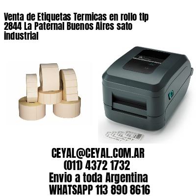 Venta de Etiquetas Termicas en rollo tlp 2844 La Paternal Buenos Aires sato industrial