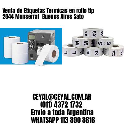 Venta de Etiquetas Termicas en rollo tlp 2844 Monserrat  Buenos Aires Sato