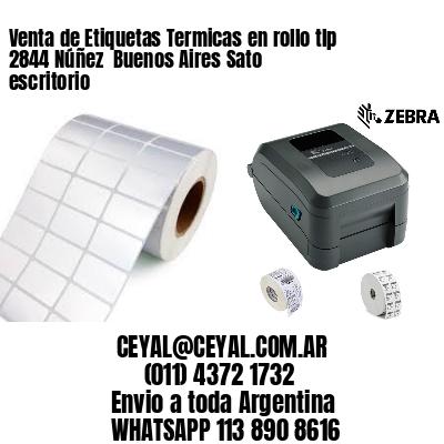 Venta de Etiquetas Termicas en rollo tlp 2844 Núñez  Buenos Aires Sato escritorio