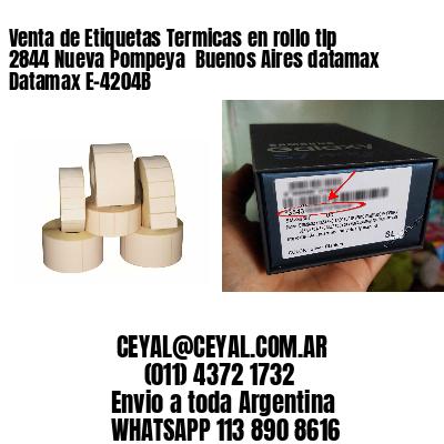 Venta de Etiquetas Termicas en rollo tlp 2844 Nueva Pompeya  Buenos Aires datamax Datamax E-4204B