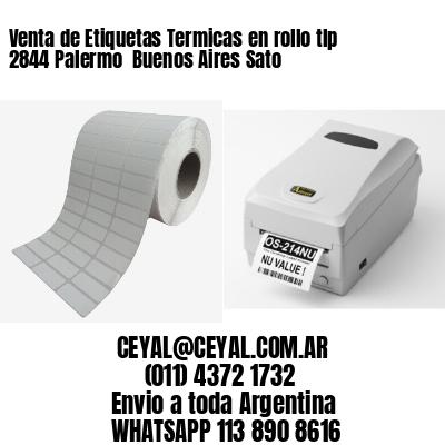 Venta de Etiquetas Termicas en rollo tlp 2844 Palermo  Buenos Aires Sato