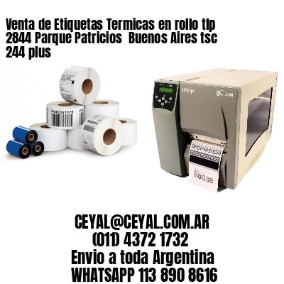 Venta de Etiquetas Termicas en rollo tlp 2844 Parque Patricios  Buenos Aires tsc 244 plus