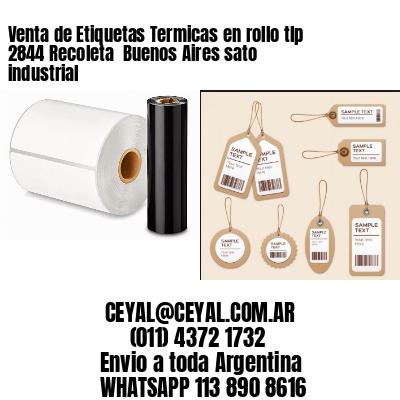Venta de Etiquetas Termicas en rollo tlp 2844 Recoleta  Buenos Aires sato industrial