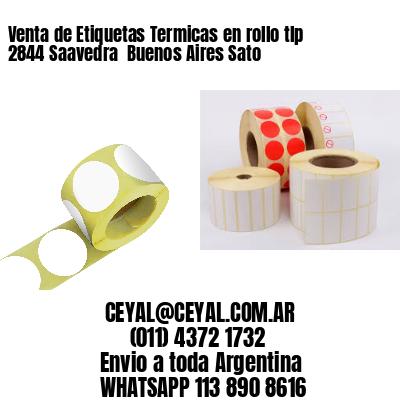 Venta de Etiquetas Termicas en rollo tlp 2844 Saavedra  Buenos Aires Sato