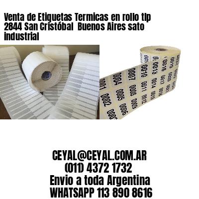 Venta de Etiquetas Termicas en rollo tlp 2844 San Cristóbal  Buenos Aires sato industrial