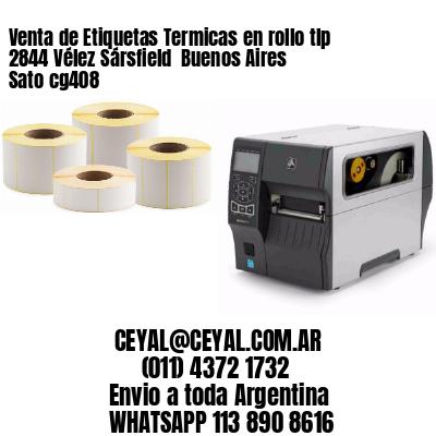 Venta de Etiquetas Termicas en rollo tlp 2844 Vélez Sársfield  Buenos Aires Sato cg408