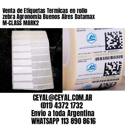 Venta de Etiquetas Termicas en rollo zebra Agronomia Buenos Aires Datamax M-CLASS MARK2