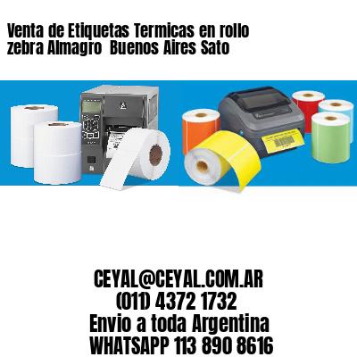 Venta de Etiquetas Termicas en rollo zebra Almagro  Buenos Aires Sato